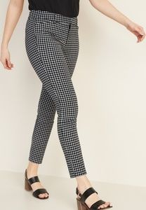 OLD NAVY•Mid-Rise Printed Pixie Ankle Pants/BlkG/4